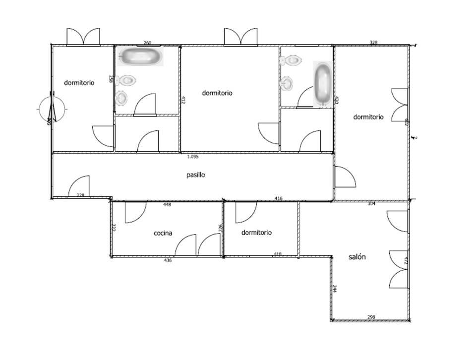 Plano inmobiliaria piquer for Oficina catastro almeria